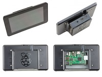 10450000122 raspberry pi 7 inch touchscreen display case