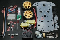 Pi follower car starter kit serial s